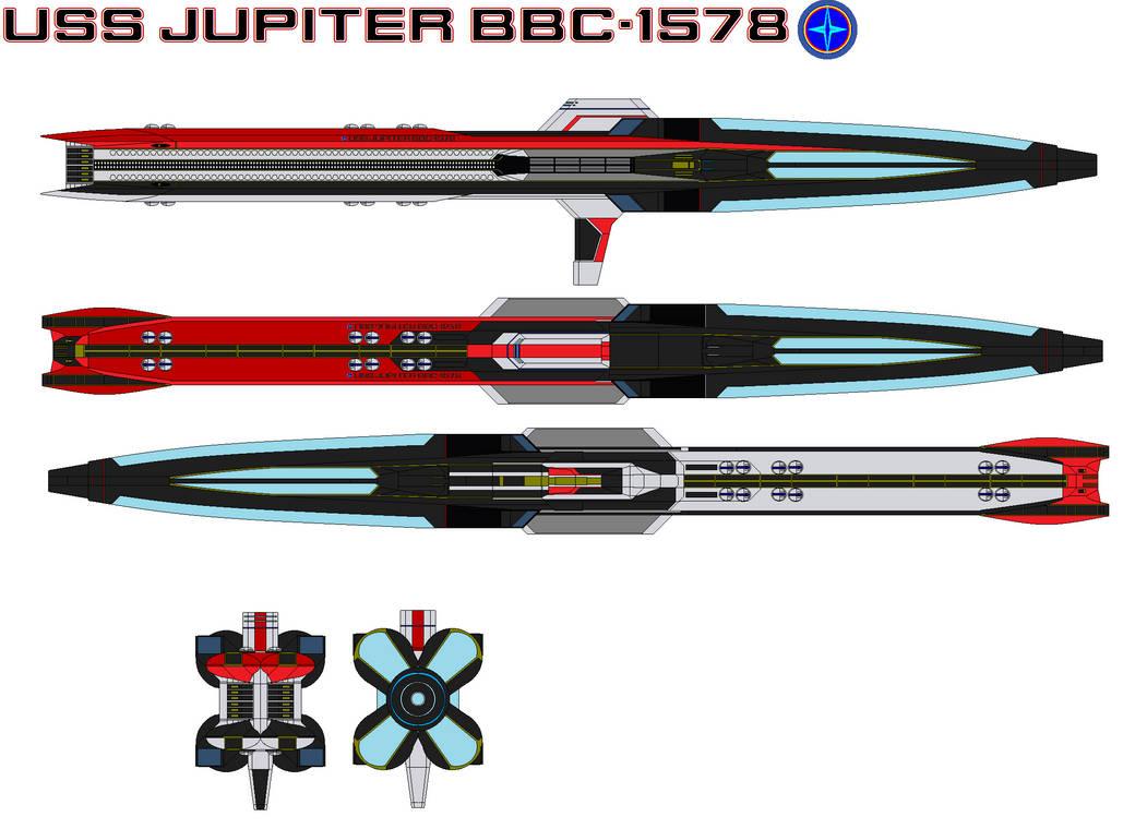 USS Jupiter BBC-1578 by bagera3005