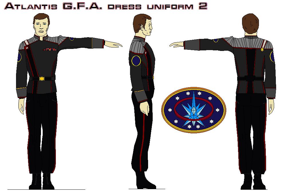 Atlantis G.F.A. dress uniform 2 by bagera3005