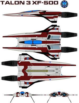 Talon 3 XF-500 by bagera3005