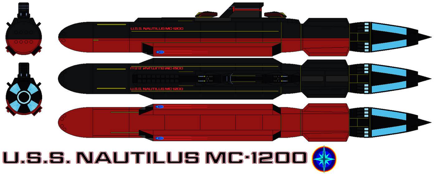 U.S.S. Nautilus MC-1200 by bagera3005