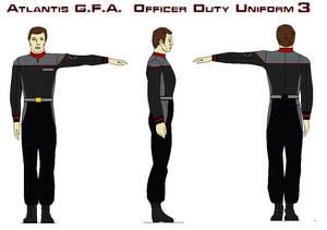 Atlantis G.F.A.  Officer Duty Uniform by bagera3005
