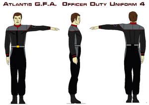 Atlantis G.F.A.  Officer Duty Uniform 4 by bagera3005