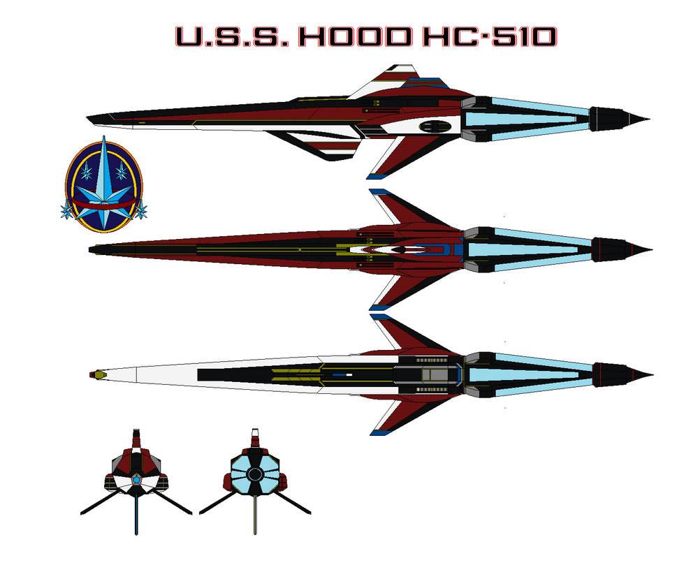 U.s.s. Hood Hc-510 by bagera3005