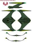Romulan Bird of Prey mk 3 by bagera3005