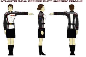 Atlantis G.F.A. dress admirals uniform female 2 by bagera3005