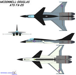 McDonnell-Douglas ATS FA-25 by bagera3005