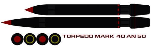 Torpedo Mark  40 an 50 by bagera3005