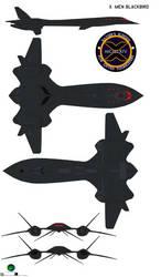 X-Men Blackbird X-Men The Last Stand by bagera3005