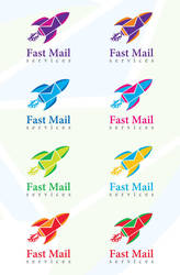 Fast Mail Logo Template by creativity-online