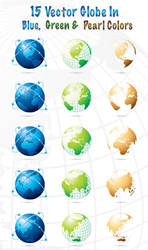 15 Globe Vector by creativity-online