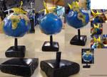 Finished Globe by MonnieBiloney
