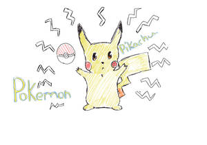 Pikachu by MonnieBiloney