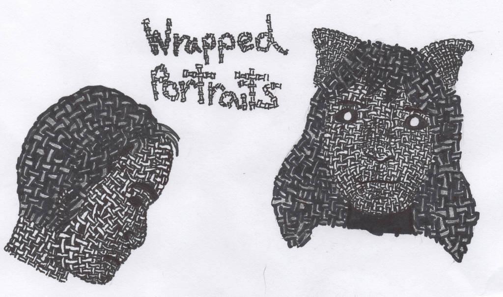 Wrapped Portaites by MonnieBiloney
