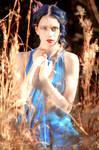 Blue Silk Sheathe 4 by MordsithCara