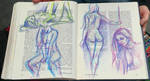 Model Drawing Collective - artdbohman by MordsithCara