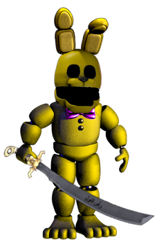 Security Spring bonnie by AgentPrime