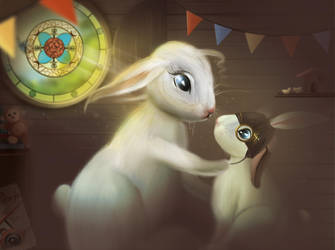 Rabbit aviator by Pandora-Desdemona