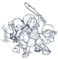 Earthbound Doodle by AmazingEGJ