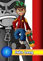 Card 1- Jake Long by AmazingEGJ