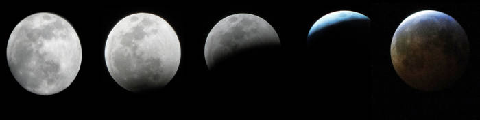 Blood Wolf Moon Lunar Eclipse by LaMoonstar