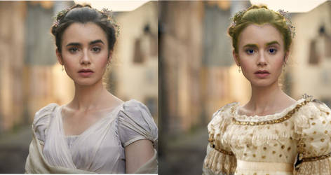 Fantine Before and After by LaMoonstar