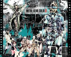 Metal Gear Solid Wallpaper by Spitfire666xXxXx