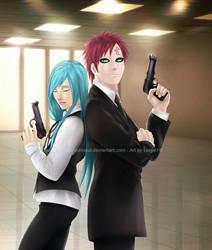 FBI AU: Protectors by KobayashiSoul