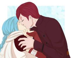 YCH CM: I love to kiss you by KobayashiSoul