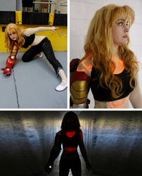 Extremis!Pepper Cosplay by NecroticSniper