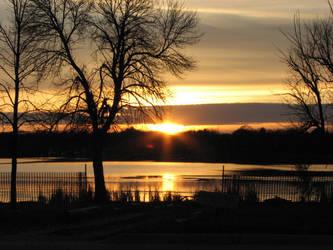 November Sunset by Banasre25001