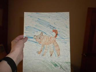 Badly  drawn  tiger by Flynnster-4590