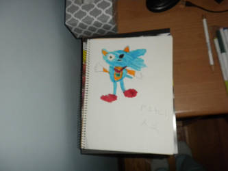 Patch the Hedgehog redrawn by Flynnster-4590