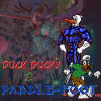 DUCK DUCKY AND PADDLEFOOT by goldbrandonium