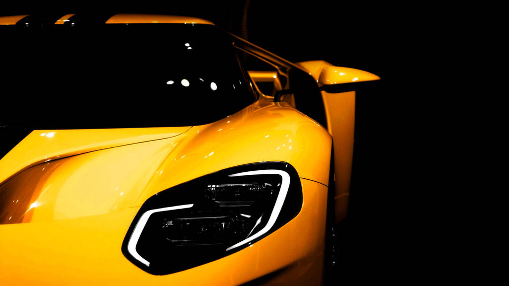 2017 Ford GT Yellow by FirstLightStudios