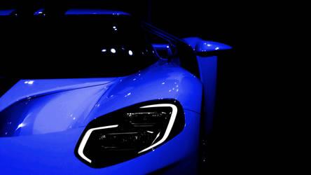 2017 Ford GT Blue by FirstLightStudios