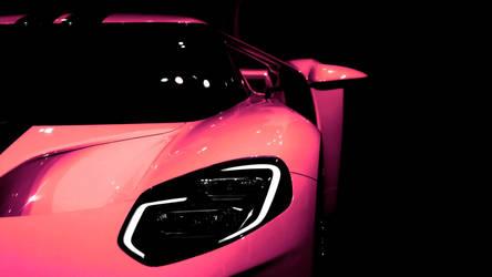 2017 Ford GT Pink by FirstLightStudios
