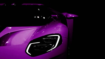 2017 Ford GT Purple by FirstLightStudios