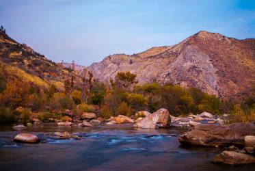 Kern River Sunset by FirstLightStudios