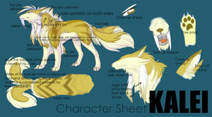 Kalei Reference Sheet by linai