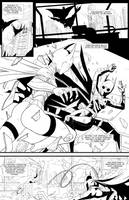 Batgirl VS #1 p1 by SwainArt