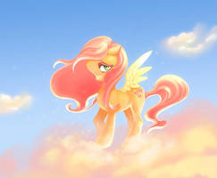 fluttershy by yanea