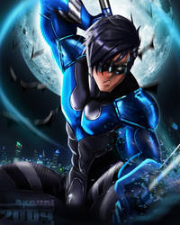 Nightwing by axouel2009