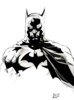 my batman redone by Nomad55