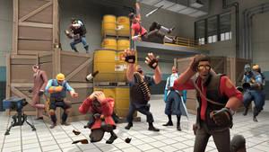 BLU Team's Revenge by CrudeCuttlefish