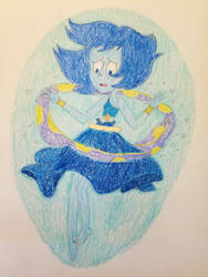 Lapis' First Transformation into a Mermaid by wildguardianangel31
