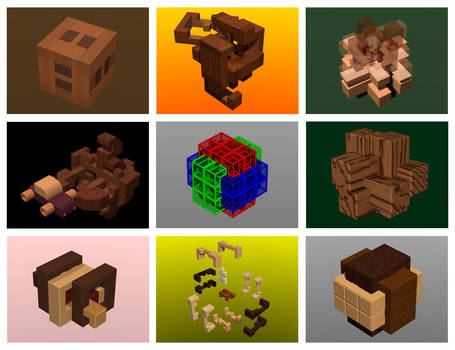 Burr Puzzles by eriban