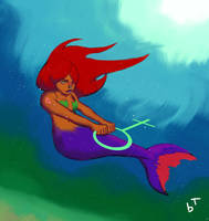Mermaid by lumfini