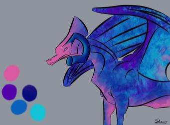 River Dolphin Sekkai Dragon by Tallulah-Ward