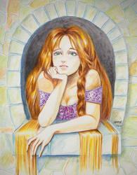 Rapunzel by wrexjapan