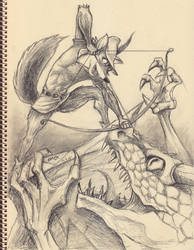 Robin Hood (Disney version) by wrexjapan